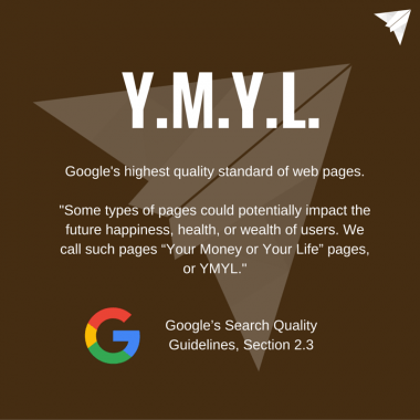 E.A.T. ve Y.M.Y.L.: Google Kalite Değerlendirme Rehberi'ne Göre Kaliteli İçeriğin Kısaltmaları