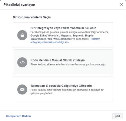 facebook pixel nasıl kurulur