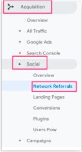 google analytics ağ yönlendirmeleri